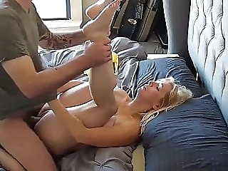 CUM in Sexy MUM blowjob mature creampie