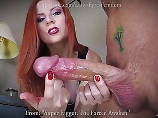 Super Faggot: The F0r.ced Awaken by Lady Fyre handjob redhead bisexual
