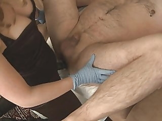 Wife pegging small-dicked husband in the ass femdom strapon hd videos