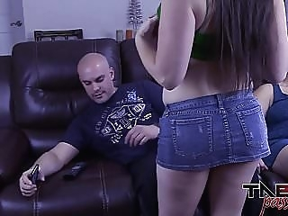 Big Tits Melanie Hicks in Daughter Fucks Dad while Mom Out amateur cumshot hd videos