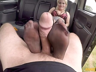 John Bishop & Petite Princess Eve in The Big Cab Cock Stalker - FakeHub big ass big tits blonde