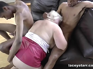 Lacey Starr in Granny Gets Double Teamed - LaceyStarr big ass big tits blonde