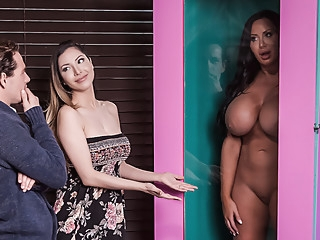 Sybil Stallone & Tyler Nixon in Free For All Fuck - BRAZZERS anal asian big ass