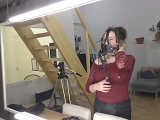 Mia self bondage test bdsm compilation russian