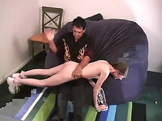 Melissa Ashley - Hard Spanking pornstar pov shaved