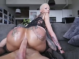 Huge booty Bella Bells anally rides the big boner anal big ass big cock