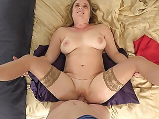 Mothersday massage amateur blonde big boobs