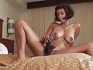 Hairy Bush Babe Masturbates in Hotel Room amateur hairy hd videos