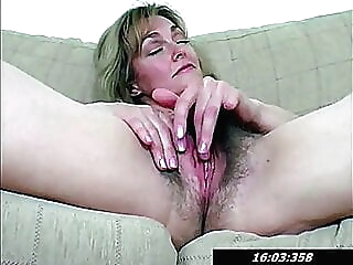 Hairy Pussy Of 42 Year Old Mommy Lydia blonde fingering hairy
