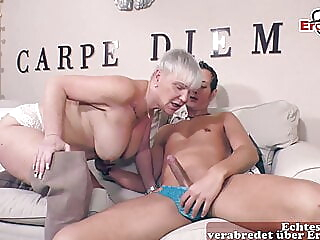 German mature big boobs granny fucks amateur mature big boobs
