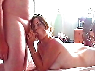 Plumber Fucks & Cums On My Face So I Can Pay My Bill amateur blowjob facial