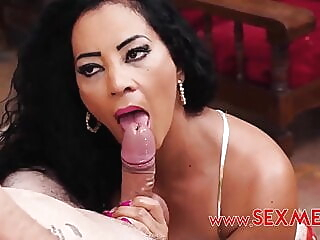 Galila blowjob mature tits