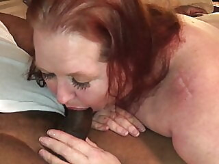 BBC regular stopped by to fill me with cum amateur blowjob bbw