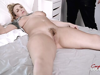Thick Milf With Big Tits Touched And Fucked While Sleeping - Joslyn Jane big tits blonde hairy
