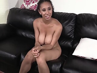Busty Beauty american big tits casting