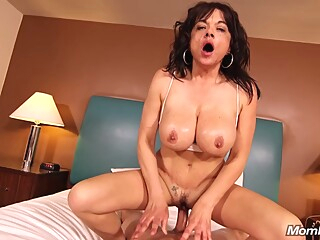 45 Years Old Mom Betty Gets Anal Pounded anal big ass big tits