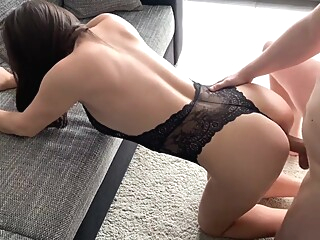 Some Quality Quarantine Time Full Lenght - Fucking Teen In Sexy Lingerie amateur big ass big tits