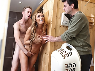 Stacey Saran & Danny D in A Very Neighborly Affair - BRAZZERS big tits blonde milf