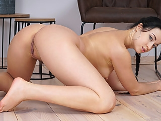 Taissia Shanti in Naked Beauty - NUBILES big ass brunette european