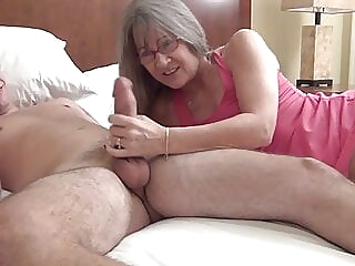 Banging My Son's Roommate amateur blowjob cumshot