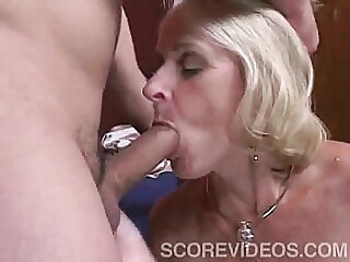 Interior Decorator blonde blowjob old & young