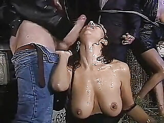 italian ladies by mafia in front of their hubby blowjob cumshot hardcore