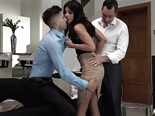 Monicas Fantasies - Sharing Is Caring anal brunette deepthroat