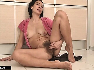 Latvian Housewife And Hairy Mommy Eva Masturbates 3, 3 Scenes big tits brunette european