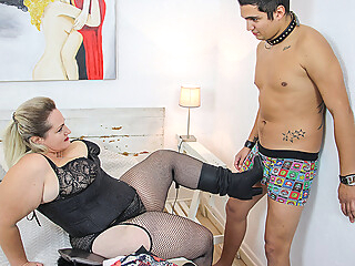 Huge Breasted Bbw Sophia Lola Fucking A Toy Boy - MatureNL big ass big tits dutch